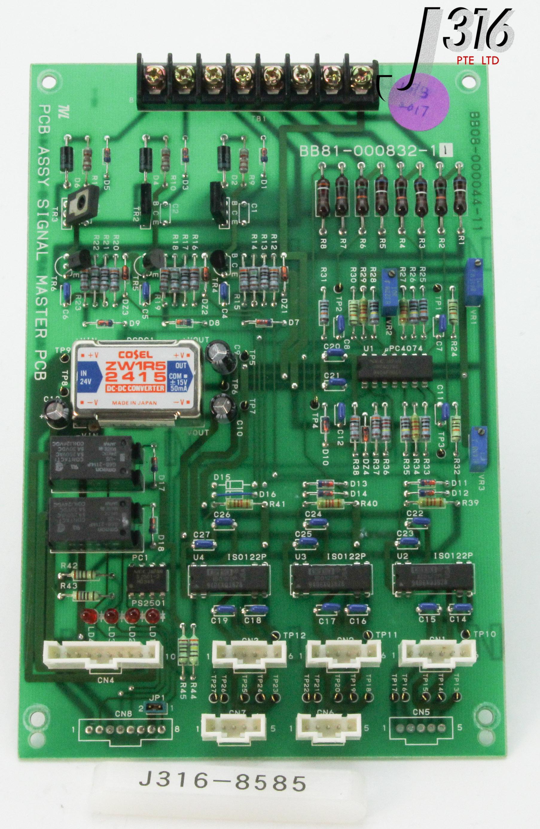 WATER CONTROL QUALITY 02000008 REV E 03000008 BOARD DPC-34-125 LEE LASER?? />